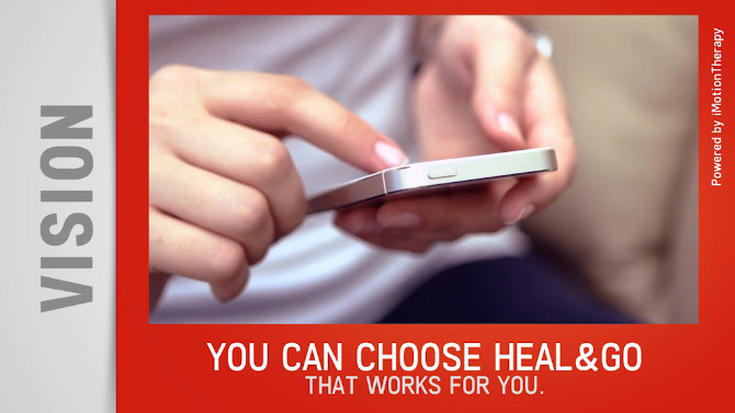 Heal&Go - Feeling therapy as fast response to your pain.