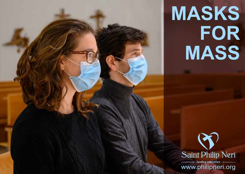 MASKS FOR MASS & MORE!!! - 5,000 Masks put to good use.
